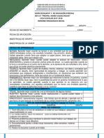 Fpt Formato Informe Pedagógico Inicial