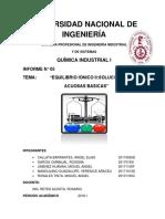 Informe n 5 Quimica Industrial II