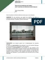 Alarma en Mampara de Vidrio - Enrique Walter Muñoz Galicio