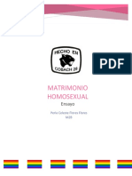 Matrimonio y Homosexualidad (Alumna Perla Flores Flores) - Rocío Guadalupe Velázquez Plantel 28