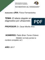 monografia del Efecto Doppler