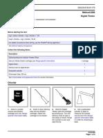Metodo Hach 8206 Para Cloruros Por Nitrato de Mercurio