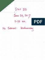 June 26th 1130