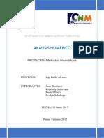 PROYECTO-ANÁLISIS NUMERICO