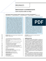 Evaluación de Sistemas de Salud y La Estrategia de APS