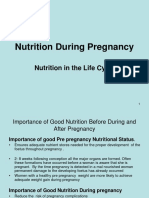 Lecture 10 - Nutrition During Pregnancy Lactattion Infancy ,Adolescence,Adult and the Elderly