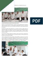 06-12-2016 Firman Convenio de Colaboración Coddehum y La Comisión Estatal de Arbitraje Médico.
