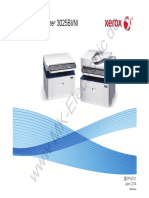 Manual Service Xerox Workcentre 3025