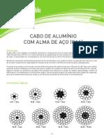 Cabo de Aluminio Com Alma de Aco CAA Web