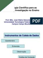 6 Metodologia Coleta de Dados