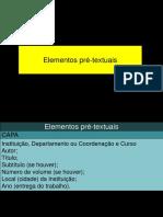 7a1 Metodologia Estrutura Normas Pré Textuais