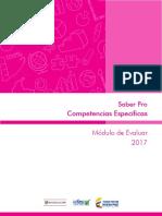 Guia de Orientacion Competencias Especificas Modulo de Evaluar Saber-pro-2017