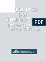 Análisis de Estados Financieros Vertical y Horizontal