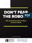 Don't Fear the Robots