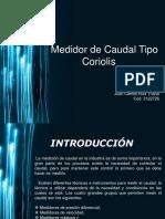 Medidor de Caudal Coriolis