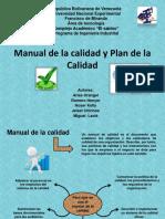Manual y Plan de Calidad