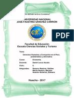 Derechos Humanos y Corrupción en El Perú , Problema de Alternativa