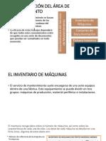 Documentación Del Área de Mantenimiento