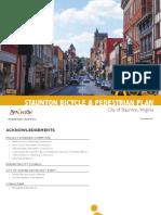 Staunton Bike-Ped Draft Plan_April 2018