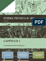 Norma Tecnica E- 090