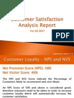 Customer Satisfaction Analysis Report - Khushi P. M.