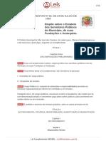 Estatuto Servidor Municipal SJC - LC 56-1992 - 24.06.2014