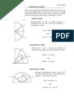 Ari Th Formulas