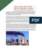 Atentado contra las Torres Gemelas en Estados Unidos.docx