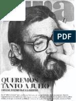 Entrevista Martín Caparrós Cortazar, Revista VIVA