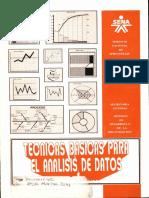 Tecnicas Basicas Para El Analisis de Datos