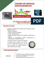 PRESENTACION PAUSAS ACTIVAS