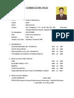 CV, Lamaran Kerja,Izasah Prabowo