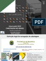 Cabotagem Intermodal Sp Abril 2015