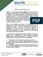 Boletin de Prensa N 102 UNGRD hidroituango