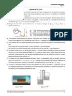 Ejercicios Hidrostatica e Hidrodinamica