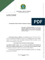 Petição PGR - Voto Impresso