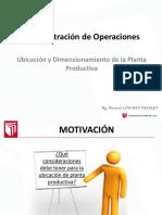 Sesion6_Dimensionamiento y Ubicacion de Administracion de Operaciones