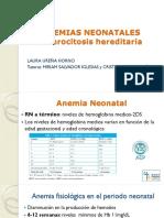 Sesón r1 Laura Ureña Esferocitosis Hereditaria
