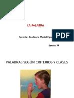 LA PALABRA 3 A