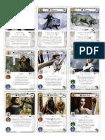 Juego de Tronos - Cartas