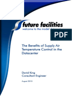 The Benefits of Supply Air Temperature Control in the Datacenter