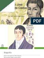 Unidad 3 Francisco José de Caldas - Juan Camilo Duque