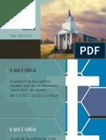 Estudo Sobre Eclesiologia(Basica)