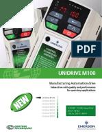 Unidrive M100 Brochure