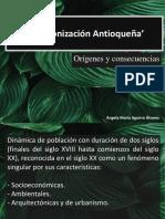 Unidad 5 Colonización de Antioquia - Ángela Aguirre