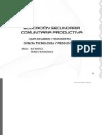 3 02 PE Educacion Secundaria Comunitaria Productiva Ciencia Tecnologia y Produccion