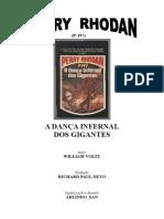 P-197 - A Dança Infernal Dos Gigantes - William Voltz