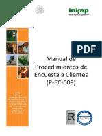 009 - Manual de Procedimientos de Encuesta a Clientes