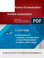 Red Hat_CloudForms Orchestration_Ansible Automation