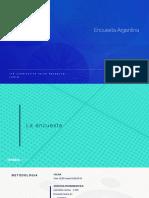 Encuesta de IDEIA Big Data sobre el acuerdo de Argentina con el FMI